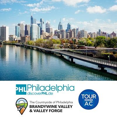 Philadelphia & ihre Countryside und Atlantic City