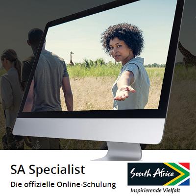 Die offizielle Online-Schulung SA Specialist