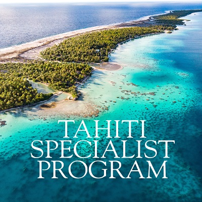 Das Webinar zum Tahiti Specialist Program- Launch