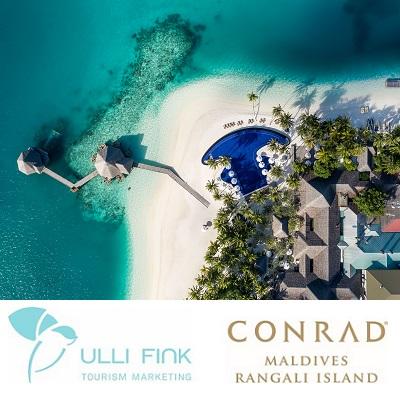 Virtueller Fam Trip ins Conrad Maldives Rangali Island