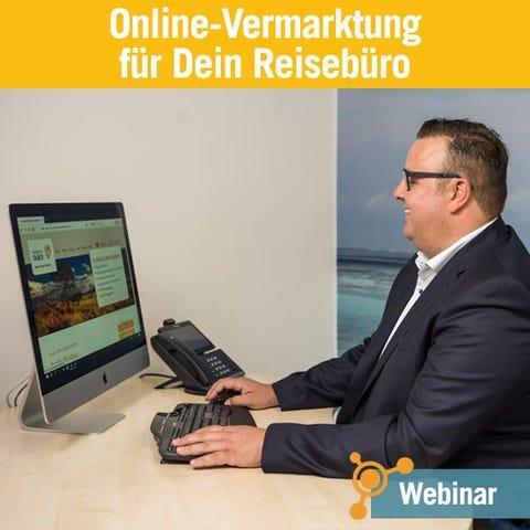 Online-Vermarktung für Dein Reisebüro