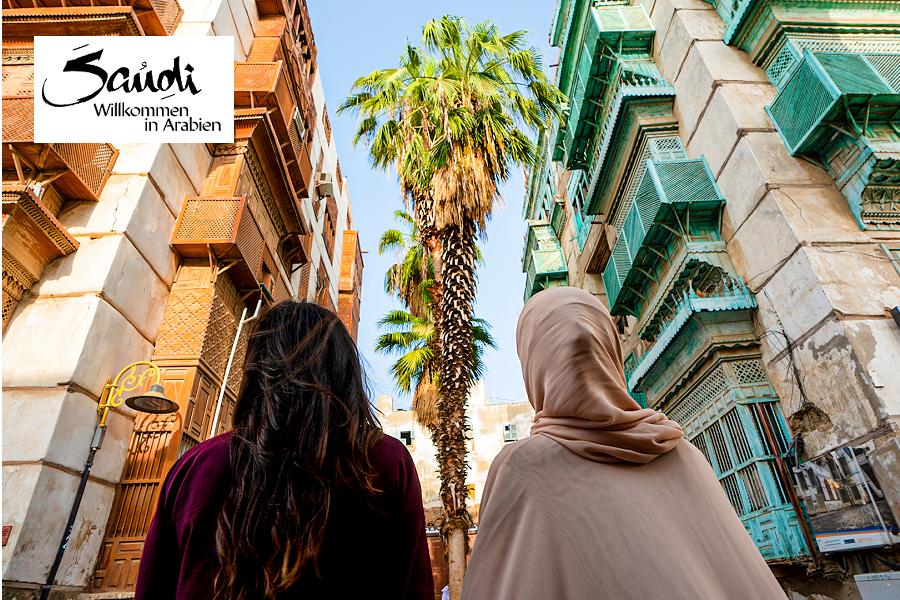 Saudi-Arabien mit Partner Saudia, Vorstellung der Großstädte mit traditionellem Charme & deren Umgebung: Riad, Jeddah und Damman