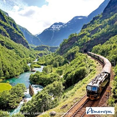Ameropa Katalog-Highlights – Bahn-Erlebnisreisen Europa & Bahn-Wandern