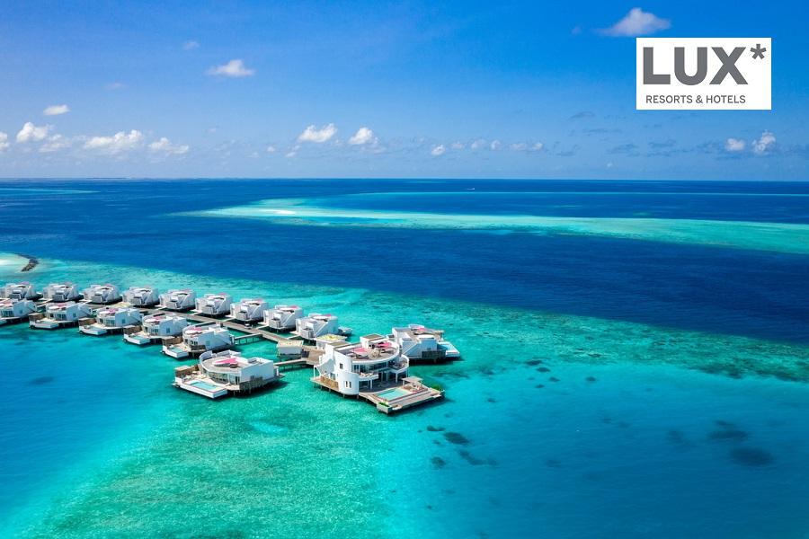 Das Luxusresort LUX* North Male Atoll Resort & Villas auf den Malediven entführt uns zu einem paradiesischen Penthouse-Rückzugsort