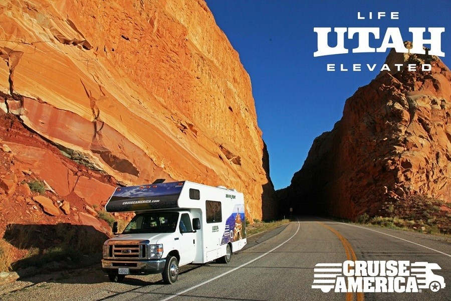 Utah mit dem Cruise America Camper entdecken