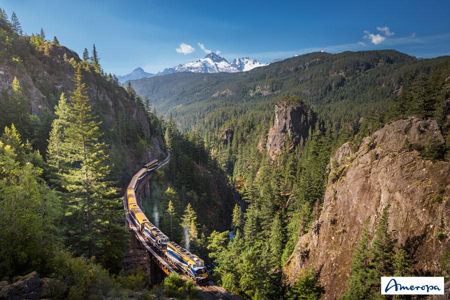 Ameropa Katalog-Highlights: Bahn-Erlebnisreisen weltweit